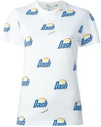 Au Jour Le Jour Dash Print T Shirt