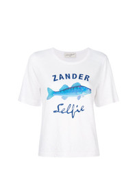 Antonia Zander Fish Print T Shirt