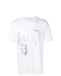 Versace Collection Large Foil Medusa Logo Tee