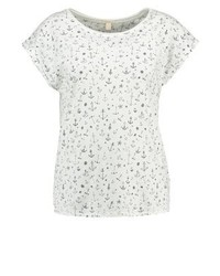Esprit Print T Shirt Off White