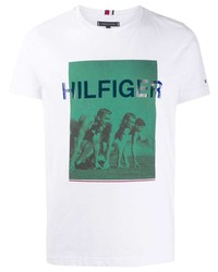 Tommy Hilfiger Printed T Shirt