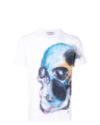 Alexander McQueen Skull Short Sleeve T Shirt