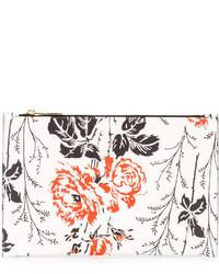 Victoria Beckham Floral Print Clutch