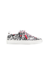 Philipp Plein Dollar Bill Low Top Sneakers