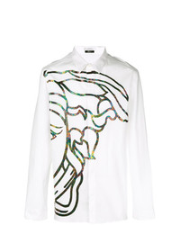 Versace Collection Medusa Print Shirt