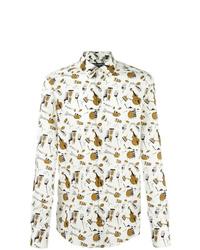 Dolce & Gabbana Musical Instrut Print Shirt