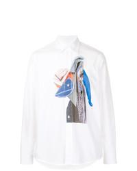 Marni Twist Patterned Shirt