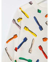 Stella McCartney Kids Spoon Print T Shirt