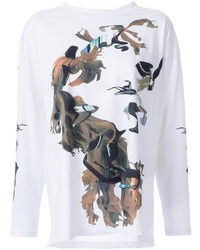 MM6 MAISON MARGIELA Printed Long Sleeve T Shirt