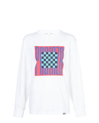Proenza Schouler Pswl Graphic Long Sleeve T Shirt