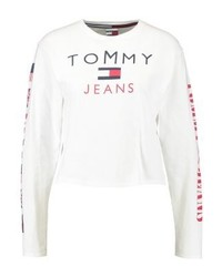 Tommy Hilfiger Tommy Jeans 90s Long Sleeved Top Bright White