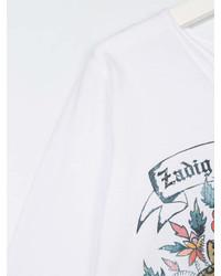 Zadig Voltaire Kids Logo Print Longsleeved T Shirt