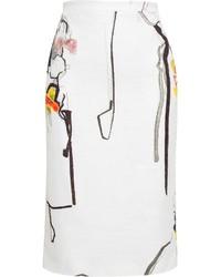 No.21 N21 Printed Pencil Skirt
