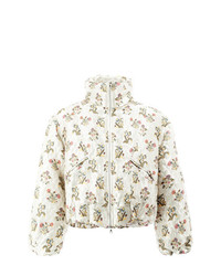 Edward Crutchley Floral Cropped Jacket