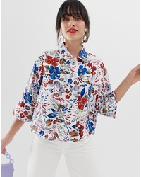 Essentiel Antwerp Saving Cropped Sleeve Jacket