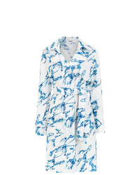 Tufi Duek Printed Shirt Dress