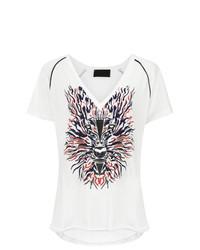 Andrea Bogosian Front Print T Shirt