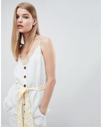 ASOS WHITE Mixed Print Co Ord Cami Top