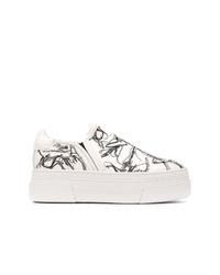 AGL Platform Slip On Sneakers