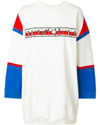 Moschino Printed Logo Sweatshirt Dress