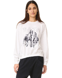 Printed sweatshirt medium 1189376