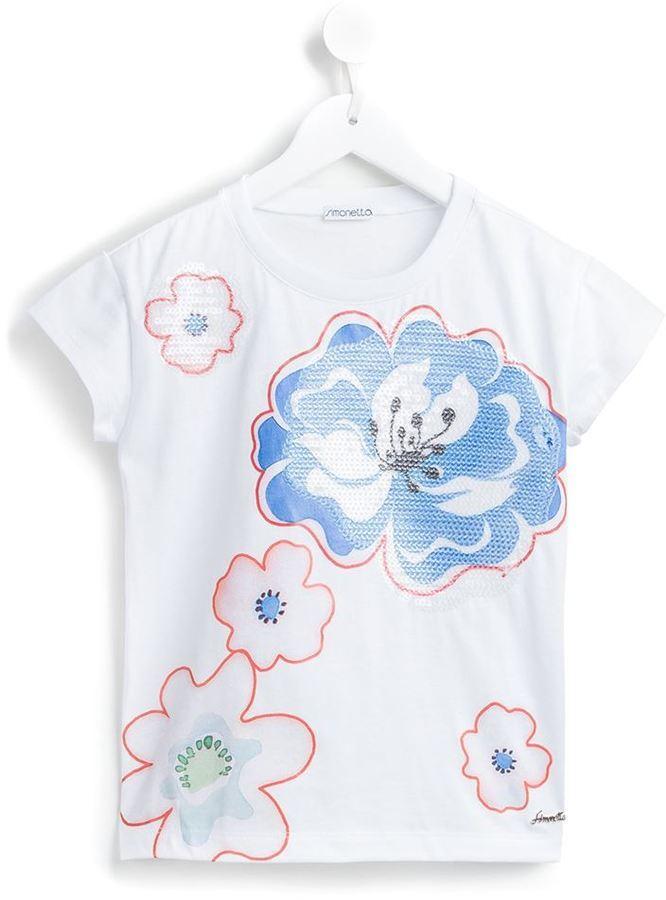 Simonetta Floral Print T Shirt