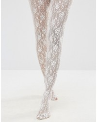Jonathan Aston Jonathon Aston Rose Print Tights