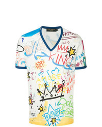 Dolce & Gabbana Dubai Graffiti Printed T Shirt