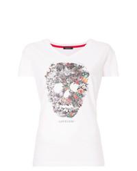 Loveless Floral Skull T Shirt