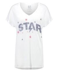 Zoe Karssen Print T Shirt Optical White