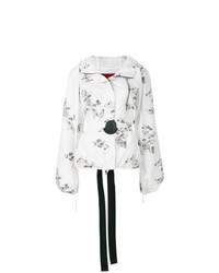 Moncler Floral Patch Hooded Jacket