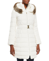 White puffer coat original 10109523