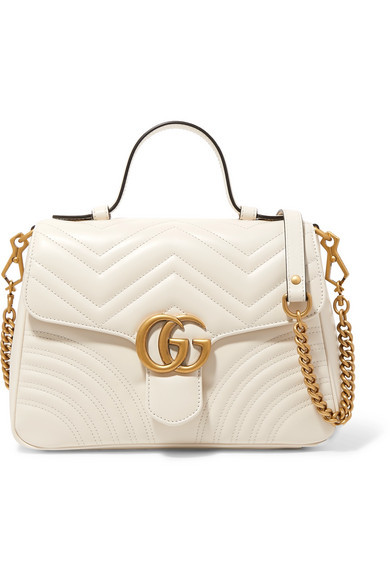 d8a662dbb426 Gucci Gg Marmont Small Quilted Leather Shoulder Bag, £2,098 | NET-A ...