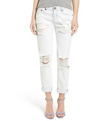 One Teaspoon Awesome Baggies Destroyed Boyfriend Jeans