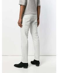 Diesel Black Gold Distressed Denim Slim Fit Five Pocket Jeans