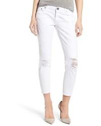 Freebirds destroyed crop jeans medium 1151183
