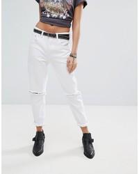 Ripped knee mom jeans medium 3748951