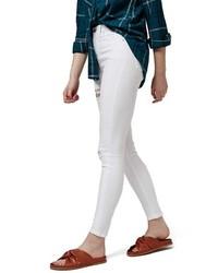 Topshop Petite Jamie Super Ripped High Waist Skinny Jeans
