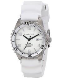 White Rubber Watch
