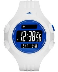 adidas Performance Questra Xl Rubber Strap Watch 53mm