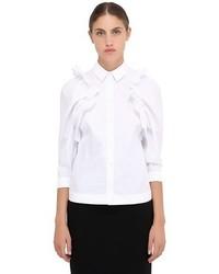 White Ruffle Dress Shirt