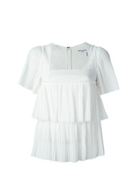 Sonia Rykiel Tiered Pleat Blouse