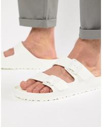 Birkenstock Arizona Eva Sandals In White