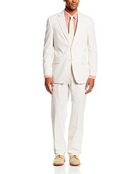 White Seersucker Suit