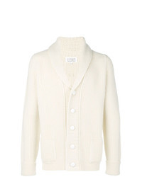 White Shawl Cardigan