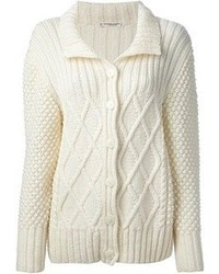 Saint Laurent Yves Vintage Aran Knit Cardigan