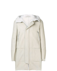 White Shearling Coat