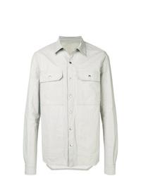 Rick Owens Button Shirt Jacket