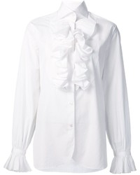Ralph Lauren Ruffled Detail Shirt
