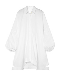 JW Anderson Asymmetric Cotton Poplin Dress